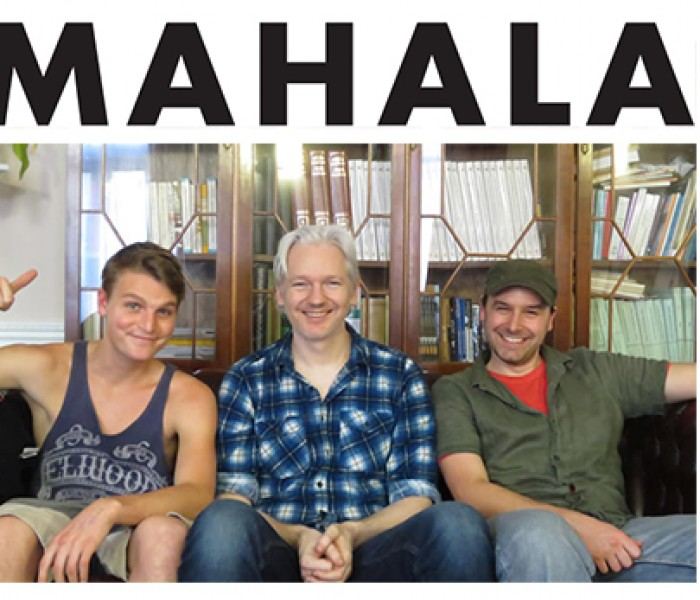 MAHALA | Teaching Assange to rap