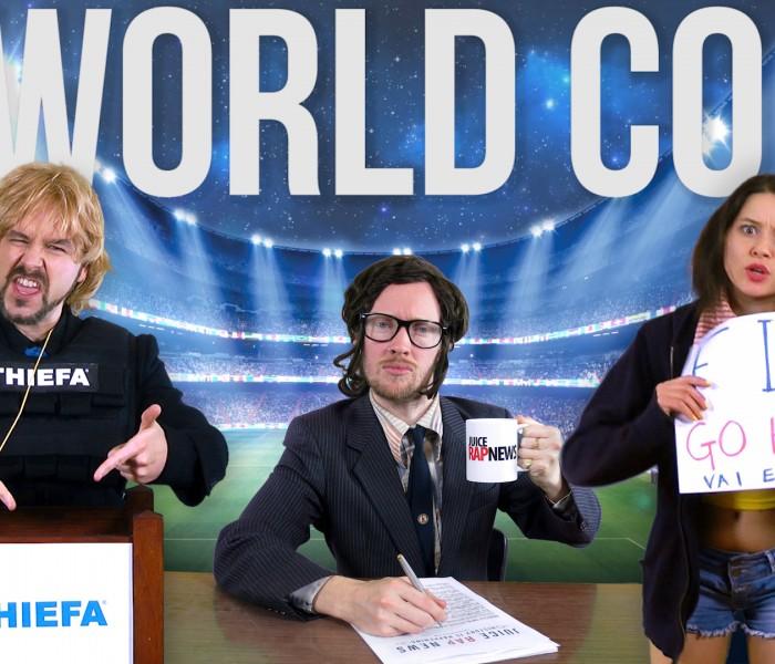 RAP NEWS 26: The World Coup – Thiefa vs Brazil