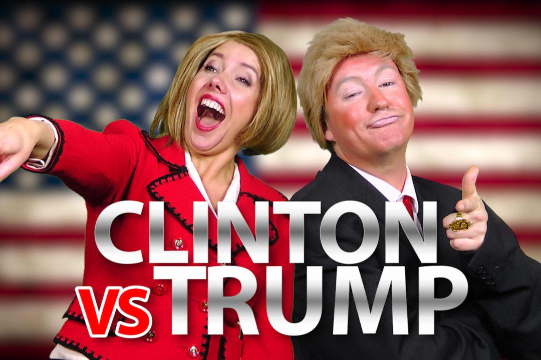 Hillary Clinton vs Donald Trump – JUICE RAP NEWS (Special Edition)