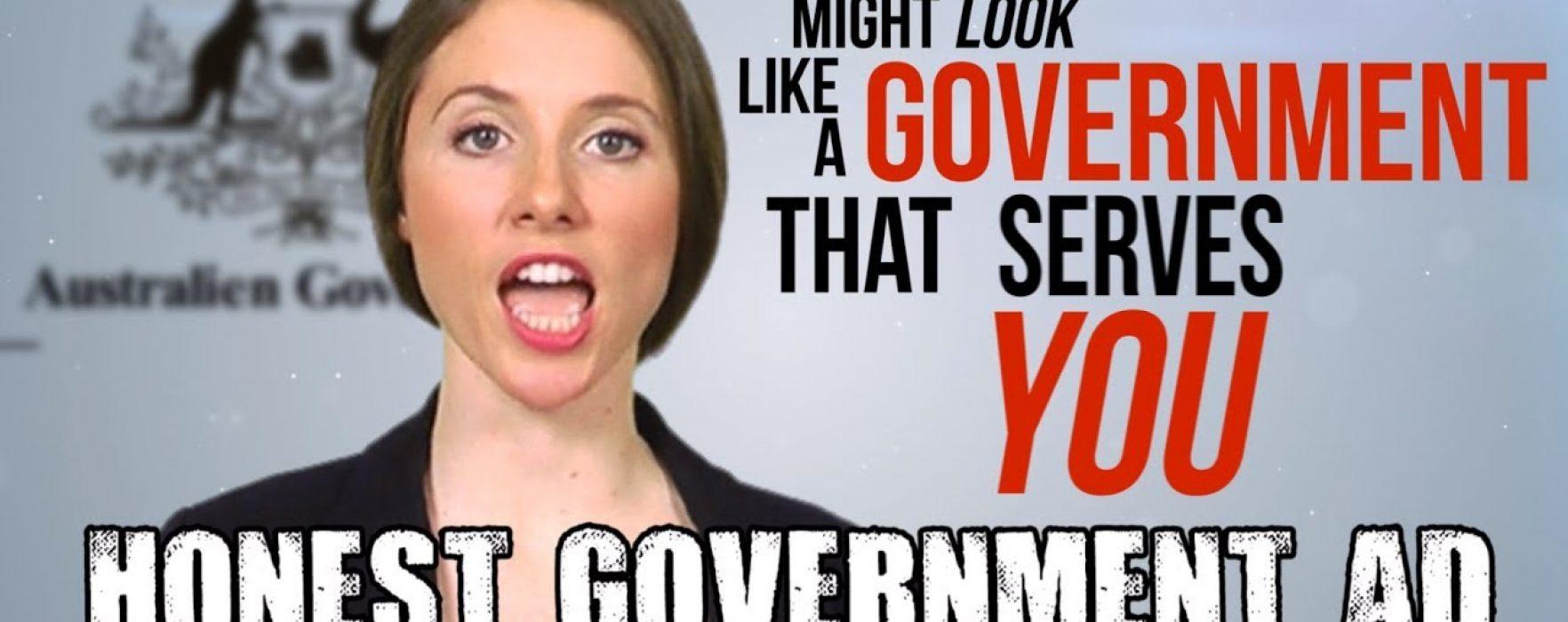 Genuine Satire (feat. George Brandis) – Honest Government Ad