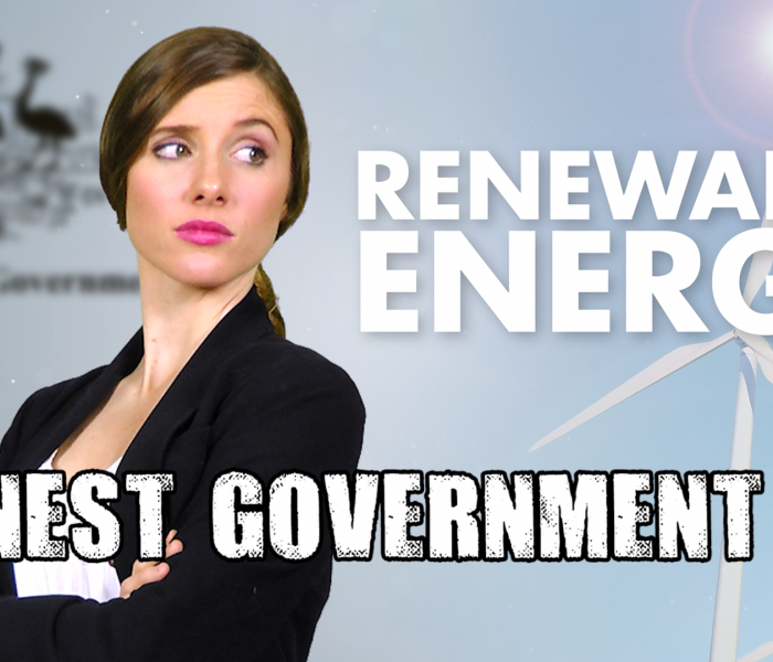 Renewable Energy – Honest Government Ad