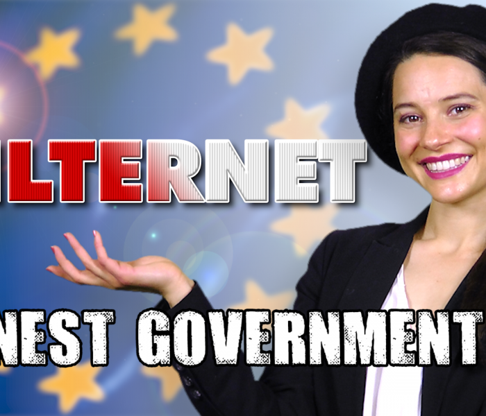 The Filternet (Article 13) | Honest Government Ad