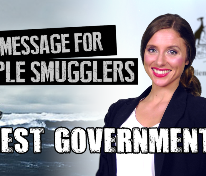 Honest Government Ad | A Message for People Smugglers